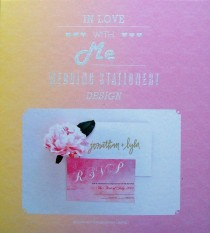 In Love With Me   Wedding Stationery Design portada