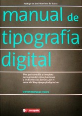 Manual de Tipografía Digitál portada