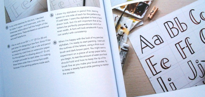 Hand Lettering A to Z interior 3