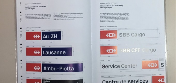 Design Manual for the Swiss Federal Railways interior 4