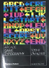 Arcade Game Typography portada